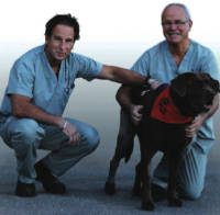 Dr. Don Rushton & Dr. Ernie Prowse with benson